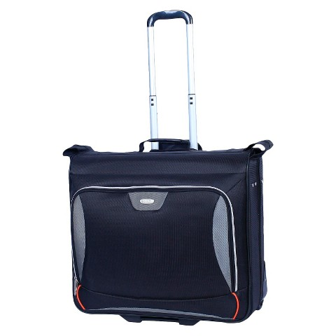 Skyline Ease Rolling Garment Bag - Black