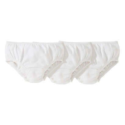 Burts Bees Baby™ Toddler Girls' 3 Pack Briefs - Cloud