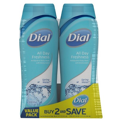 Dial® All Day Freshness Body Wash - Twin Pack