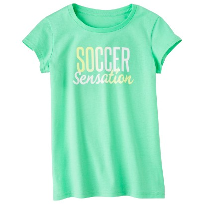 C9 by Champion® Girls' Short-Sleeve Soccer Sensation Tee