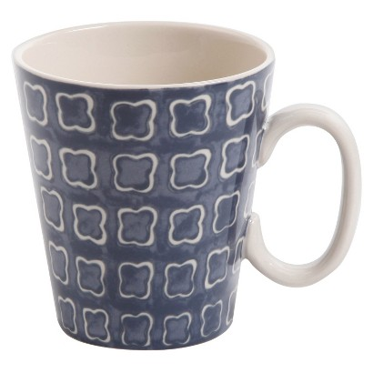 THRESHOLD™ MER BLUE CERAMIC COFFEE MUG