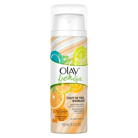 Olay Fresh Effects {Out of this Swirled! Deep Pore Clean & Exfoliating Scrub - 5 oz