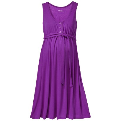 Maternity Sleeveless Side Tie Dress-Merona®