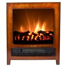 """Frigidaire Kingston 16"""" Floor Standing Electric Fireplace with 2 Heat Settings"""