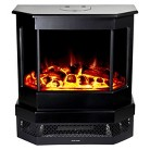 """Frigidaire Cleveland 23"""" Floor Standing Electric Fireplace with 2 Heat Settings"""