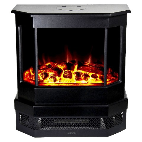 "Frigidaire Cleveland 23"" Floor Standing Electric Fireplace with 2 Heat Settings"