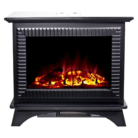 "Frigidaire Boston 27"" Floor Standing Electric Fireplace with 2 Heat Settings"