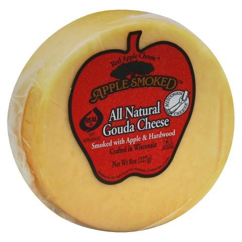 Apple Smoked All Natural Gouda Cheese 8 oz