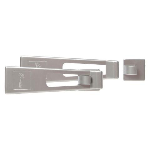 Dreambaby Refrigerator Latch - Silver 2 Pack