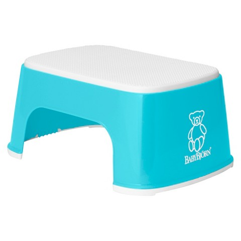 BabyBjörn Safe Step Potty Step Stool - Turquoise