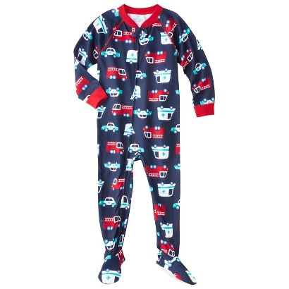 Just One You™ Made by Carter's® Infant Toddler Boys' Long-Sleeve Footed Blanket Sleeper