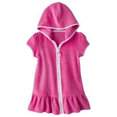 Circo® Infant Toddler Girls' Hooded Cover Up Dress