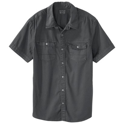 Converse® One Star® Men's Logan Short Sleeve Button Down Shirt