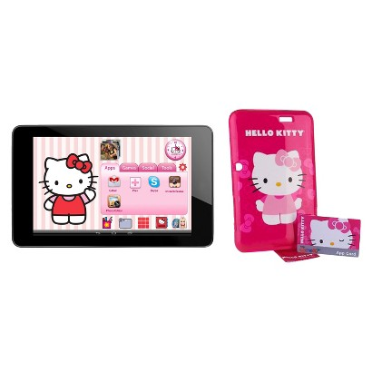 """Camelio 7"""" Android Tablet plus Hello Kitty Personalization Kit"""