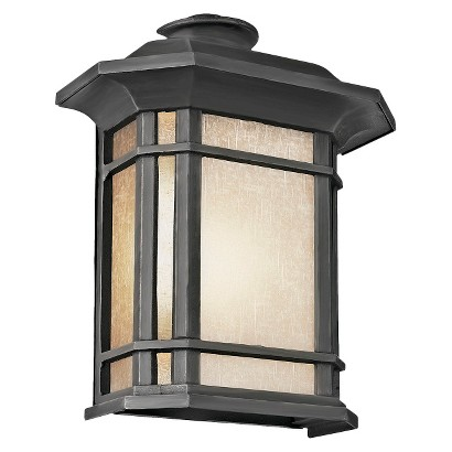 "Southwestern 20"" Wall Sconce in Black"
