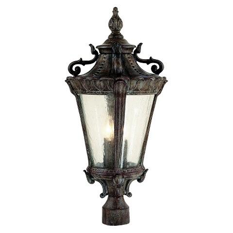 """Caesar 25"""" high Post Top Lamp"""