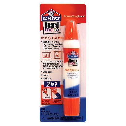 Elmers Boardmate Glue Pen Dual Tip