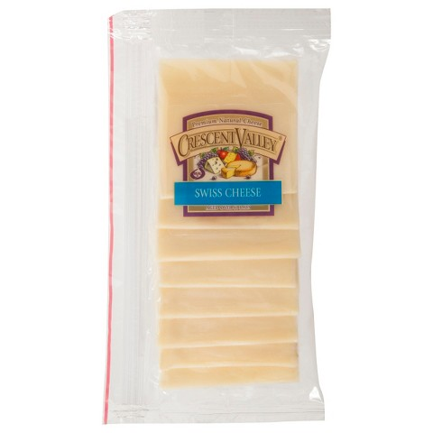 Crescent Valley Swiss Cheese 8 oz