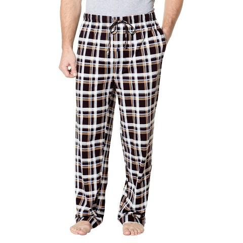 Hanes® Premium Plaid Sleep Pants - Black