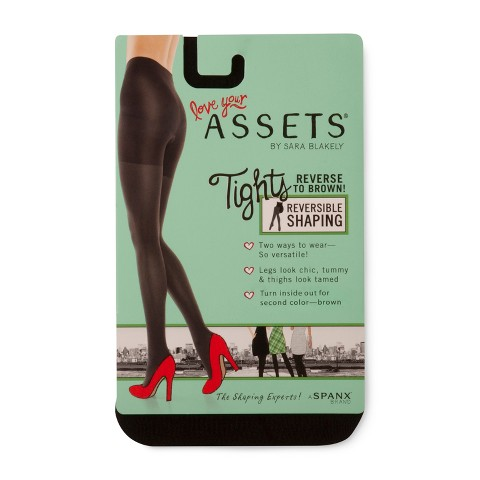 ASSETS® by Sara Blakely a Spanx® Brand Women's Reversible Tights 1602