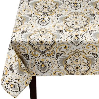 Threshold™ Paisley Medallion Rectangle Tablecloth - Yellow