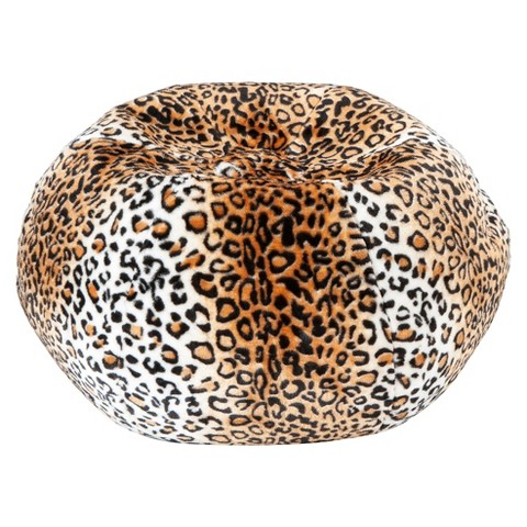 Animal Print Bean Bag Lounger
