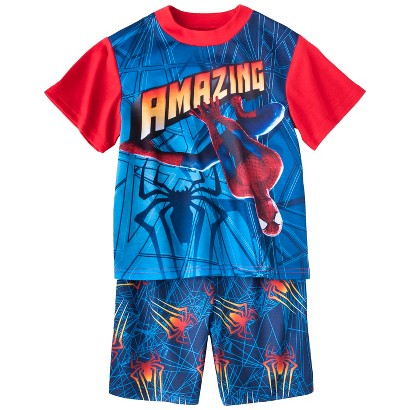 Spider-Man Boys' 2-Piece Short-Sleeve Pajama Set
