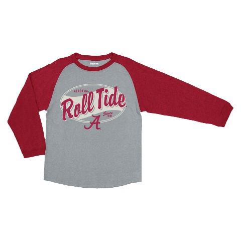 Alabama Crimson Tide Kid's T-Shirt - Grey