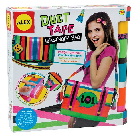 Alex Toys Duct Tape Messenger Bag