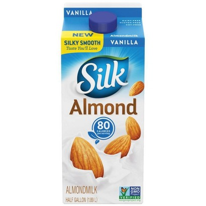 Silk Pure Almond Vanilla Almond Milk 64 oz