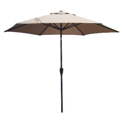 Threshold™ Aluminum Push-Tilt Patio Umbrella - 9'