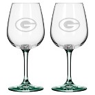 Boelter Brands NFL 2 Pack Green Bay Packers Wine Glass - 12 oz