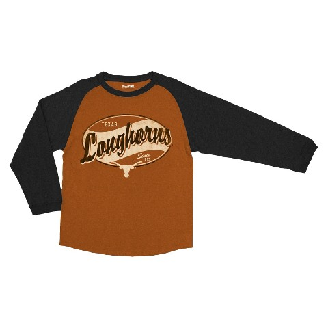 Texas Longhorns Kid's T-Shirt TEAM Texans - Brown