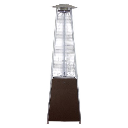 Commercial Bronze Glass Tube Patio Heater