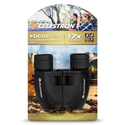 CELESTRON® Focusview 8-17x25mm Binocular
