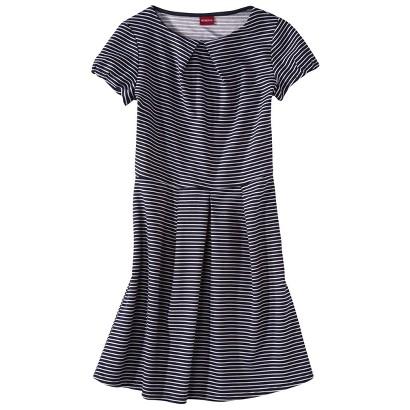 Merona® Women's Textured Cap Sleeve Shift Dress - Navy/White