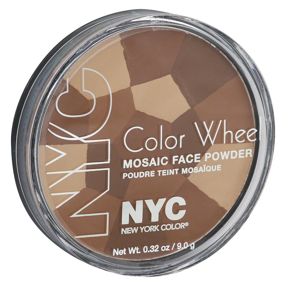 nyc color wheel mosaic powder