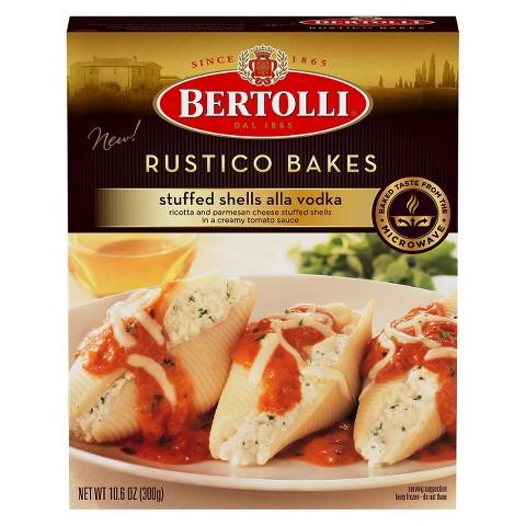 Bertolli Stuffed Shells Alla Vodka 10.6 oz
