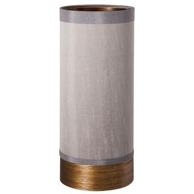 Turned Metallic Uplight (Includes CFL Bulb)