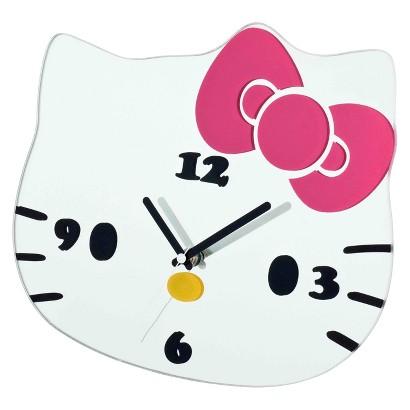 Hello Kitty Decorative Clock