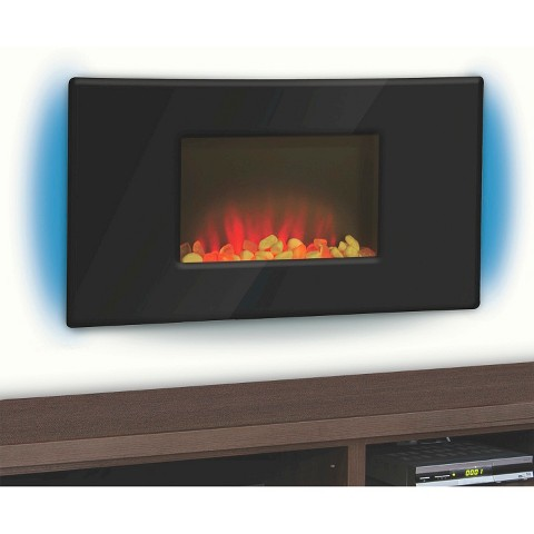 Casual Kendall Fireplace - Black