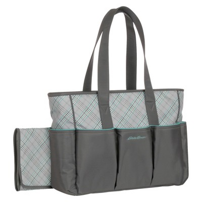 Eddie Bauer® Meadowbrook Diaper Bag - Gray