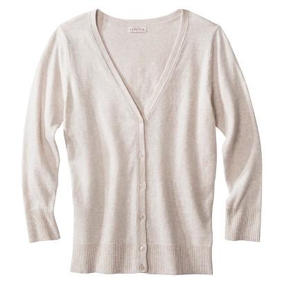 Merona® Women's Ultimate 3/4 Sleeve V-Neck Cardigan - Assorted Colors