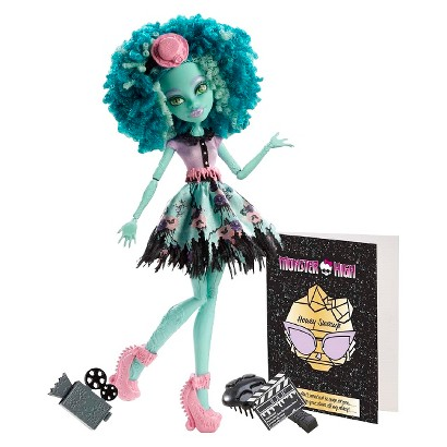 Monster High Frights Camera Action New Stars Honey Swamp Doll