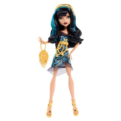 Monster High Frights Camera Action Black Carpet Cleo De Nile Doll
