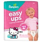 Pampers Easy Ups Girls Training Pants Jumbo Pack (Select Size)