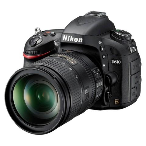 Nikon D610 24.3MP Digital SLR Camera with 28-300mm VR Lens