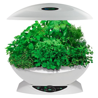 AeroGarden 7 with Gourmet Herb Seed Kit - White