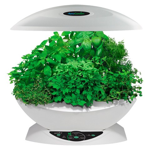 AeroGarden 7 with Gourmet Herb Seed Kit - White