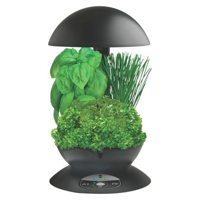 AeroGarden 3 with Gourmet Herb Seed Kit - Black